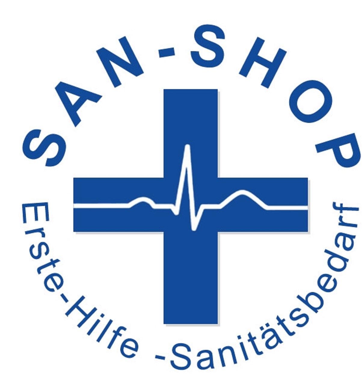 SAN-SHOP Erste-Hilfe Sanitätsbedarf-Logo